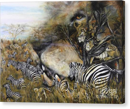 Survival Canvas Print by Laneea Tolley