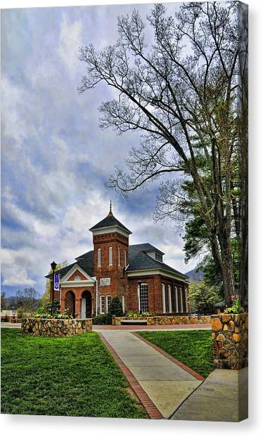 Womens Rights Canvas Print - Susan B. Anthony Chapel by Kenny Francis