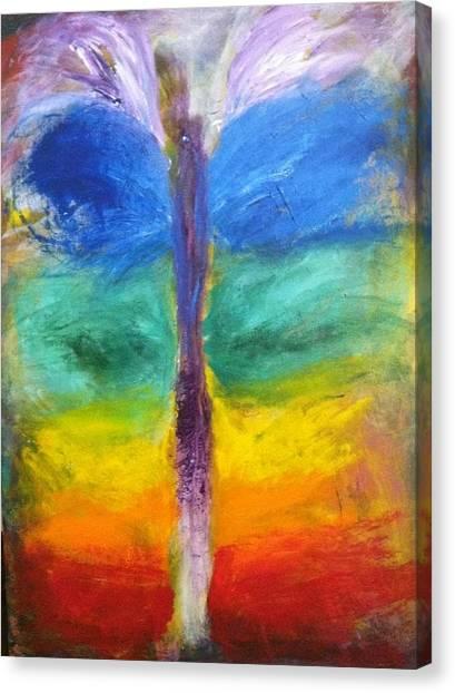 Sushumna Canvas Print by Bebe Brookman