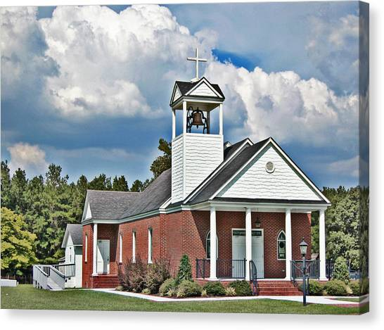 Suttons United Methodist Canvas Print