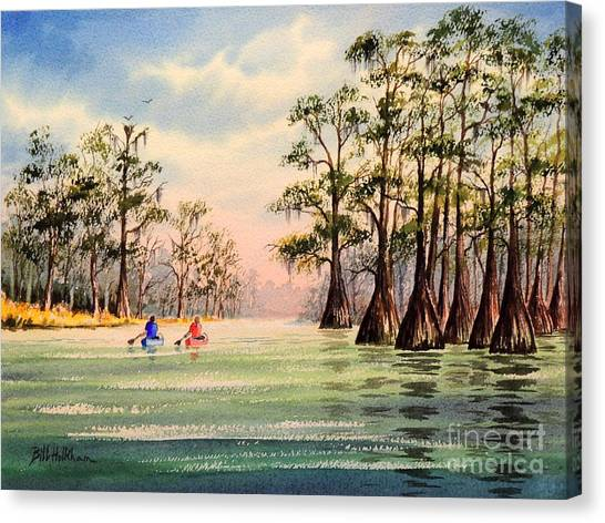 Okefenokee Canvas Print - Suwannee River by Bill Holkham