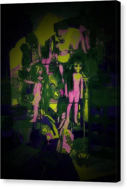 Suzy's Internalized Brooding Canvas Print