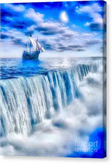 Swallow Falls Canvas Print