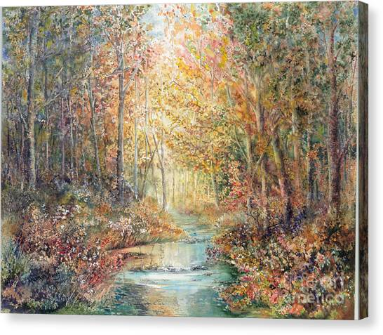 Swallows Creek Canvas Print