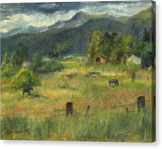 Swan Valley Residents Canvas Print