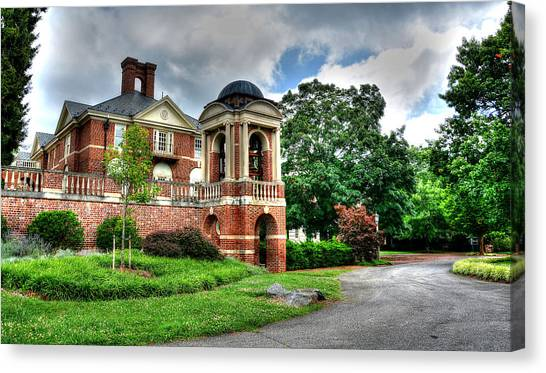 Sweet Briar Canvas Print - Sweet Briar Amherst Virginia by Todd Hostetter