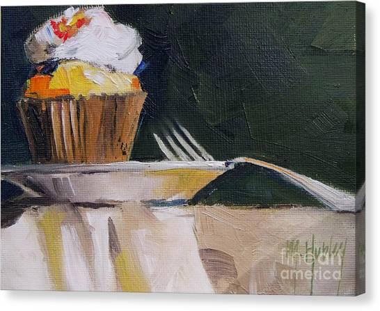 Sweet Cupcake Canvas Print