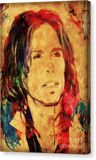 Aerosmith Canvas Print - Sweet Emotion by Gary Keesler