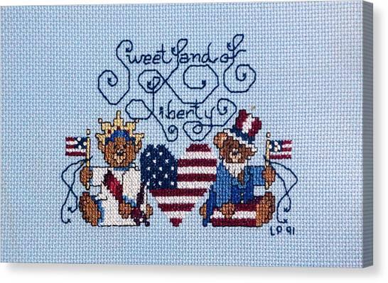 Sweet Liberty Canvas Print by Linda Phelps