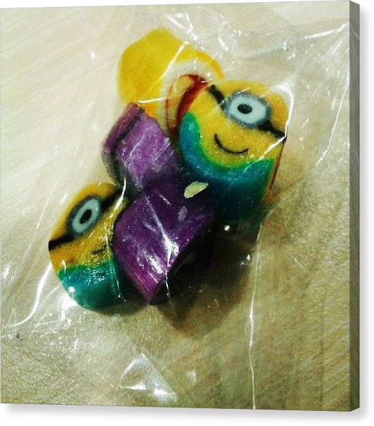 Potato Canvas Print - Sweet Minions!! Didn't Let The Purple by Wong Jia Hui