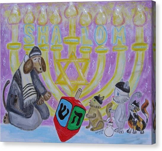Sweet Shalom Canvas Print