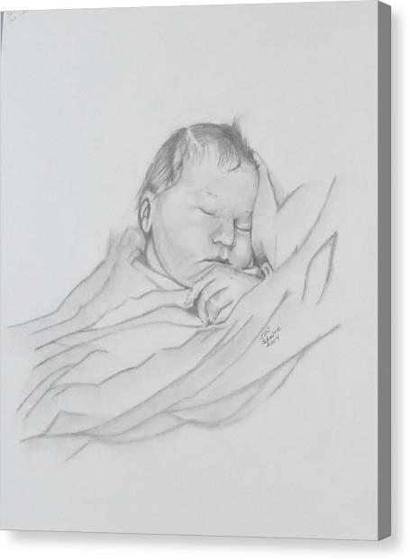 Sweet Sleep 2 Canvas Print