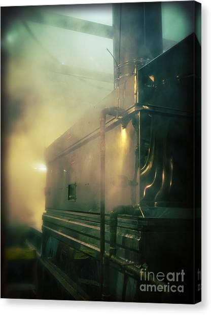 Murky Canvas Print - Sweet Steam by Edward Fielding