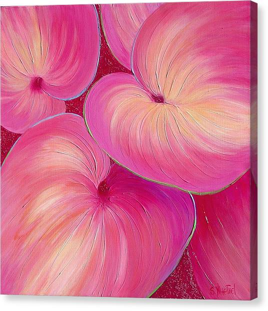 Canvas Print featuring the painting Sweet Tarts II by Sandi Whetzel