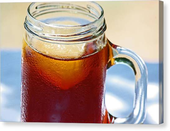 Sweet Tea Canvas Print - Sweet Tea by Robyn Stacey