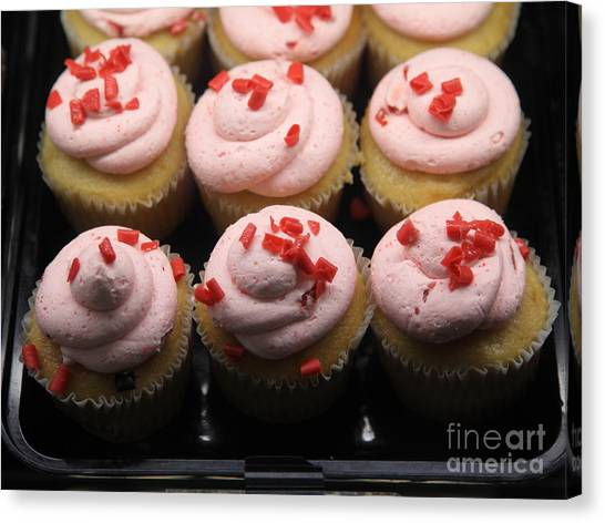 Bear Claws Canvas Print - Sweet Treats - Cupcakes - 5d20696 by Wingsdomain Art and Photography
