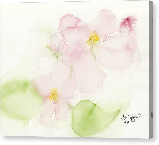 Sweetest Blossoms Of Spring Canvas Print