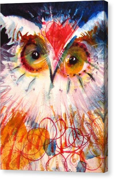 Sweetheart Hooter Canvas Print