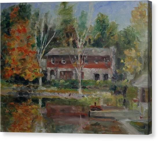 Sweetheart Lake Fall Canvas Print