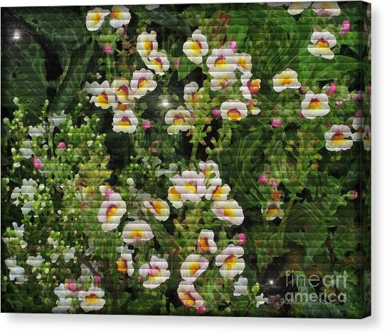 Sweetpeas Canvas Print