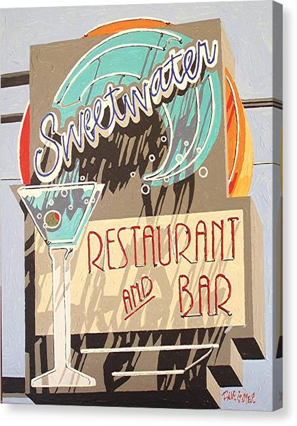 Sweetwater Canvas Print by Paul Guyer