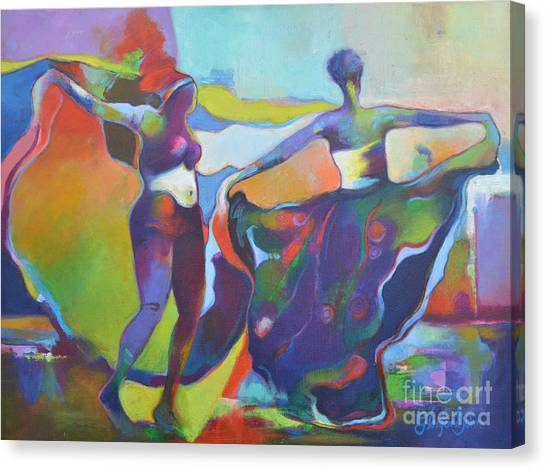 Swing To The Rhythm  Canvas Print