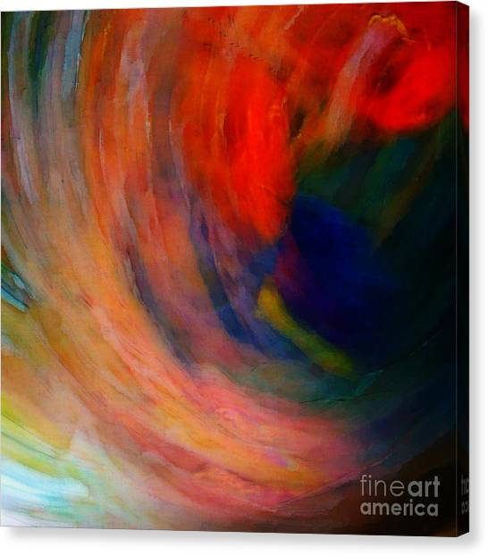 Swirlin' Shot Canvas Print