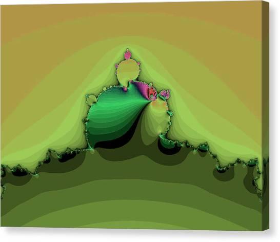Swirling Peaks Canvas Print