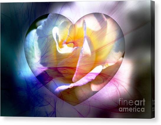 Swirls Of Love And Hope Canvas Print