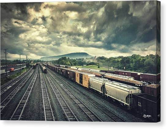 Switchyard Junction Near Lookout Mountain Canvas Print