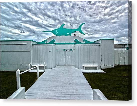 Swordfish Beach Club I Canvas Print