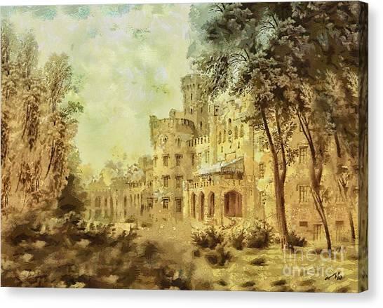 Mo Canvas Print - Sybillas Palace by Mo T