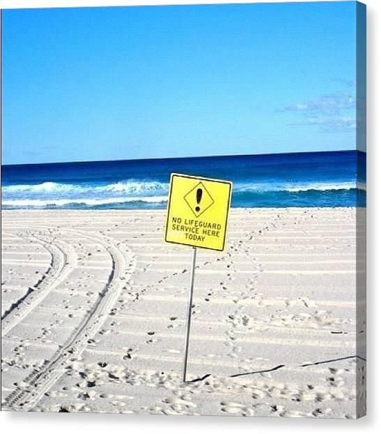 Hammerhead Sharks Canvas Print - #sydney #australia #beautiful #sign by Sophie Evans