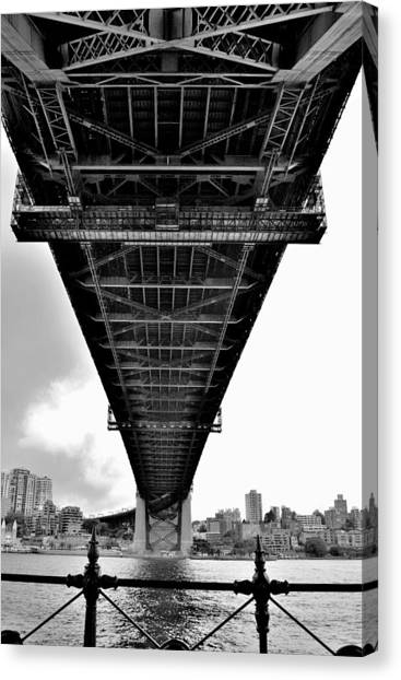 Sydney Bridge 2 - Sydney - Australia Canvas Print