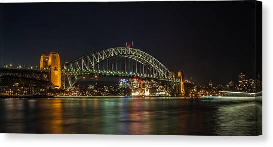Sydney Harbour Bridge 2 Canvas Print by Dasmin Niriella