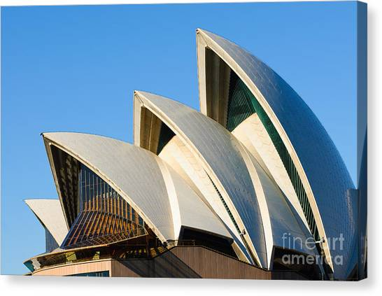 Sydney Opera House Roof Canvas Print