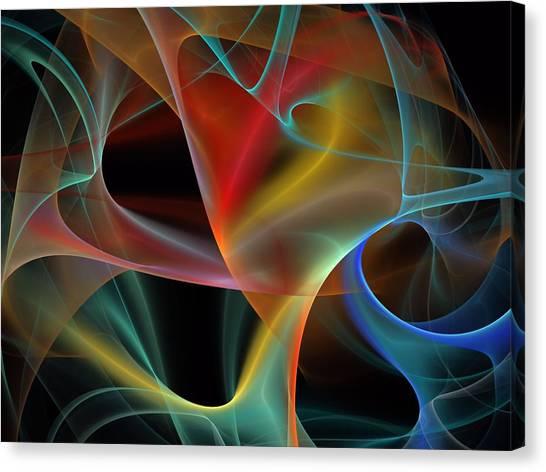 Bachelorette Canvas Print - Synchronization-panel-center-1bb by Bill Campitelle