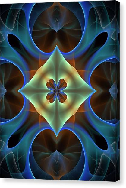Bachelorette Canvas Print - Synchronization-panel-left-or-right-1bb by Bill Campitelle