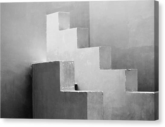 Synchronized Geometry Canvas Print