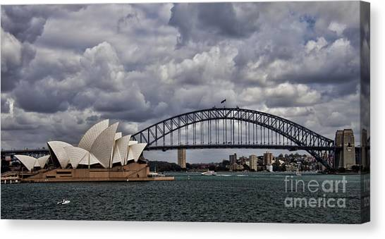 Syndey Famous Canvas Print