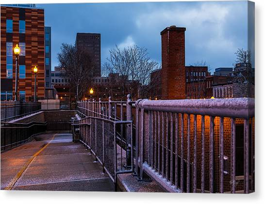 Syracuse University Canvas Print - Syracuse  by Everet Regal