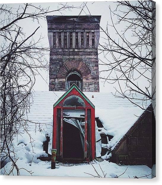 Syracuse University Canvas Print - #syracuse #oakwood #oldbuildings #315 by JL Jones