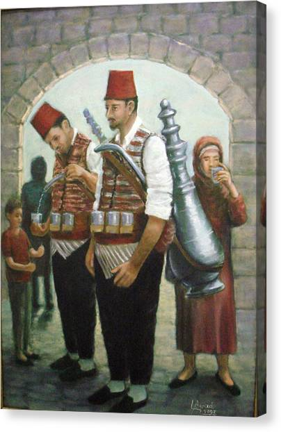 Syrian Folklore Canvas Print