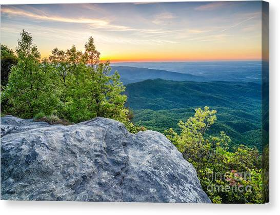 Table Rock Predawn Canvas Print