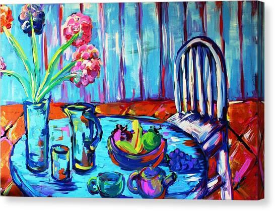 Table Setting  Canvas Print