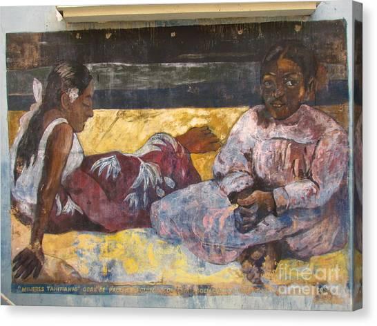 Taboga History Painting Canvas Print