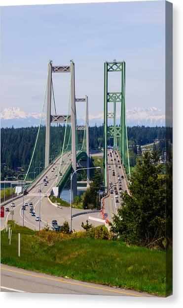 Tacoma Narrows Bridge Canvas Print