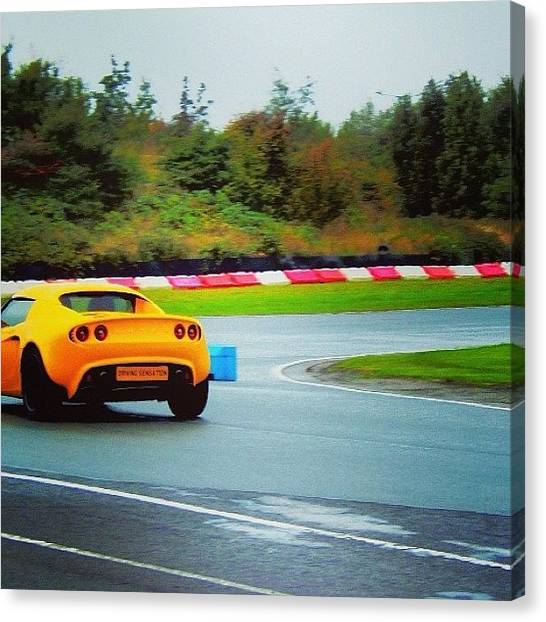 Race Cars Canvas Print - #tagstagram.app #motorsport by Vicky Combs