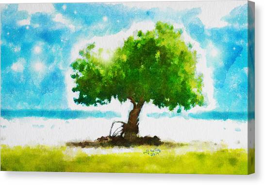 Summer Magic Canvas Print