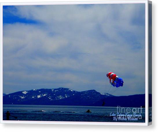 Matting Canvas Print - Tahoe Recreation by Bobbee Rickard
